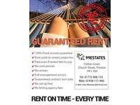 ATTENTION LANDLORDS!!! RENT GUARANTEED OFFERED.
