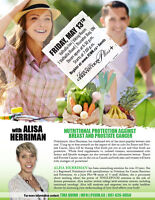 NUTRITIONAL PROTECTION AGAINST BREAST AND PROSTATE CANCER