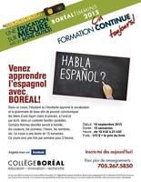 Espagnol à Boréal!