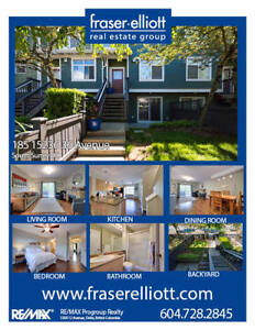 Meticulously kept townhouse located in desirable Rosemary Height