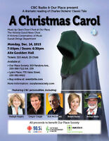 CBC Radio & Our Place present A Christmas Carol