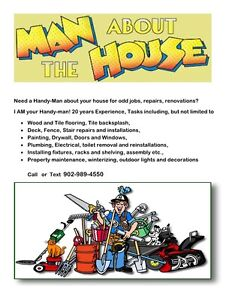 HANDY - MAN ABOUT THE HOUSE