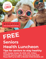 FREE Seniors Health Luncheon