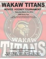 Novice Hockey Tournament  March 16, 2019
