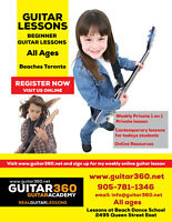 The Beaches Guitar Lessons Ages 5 and up