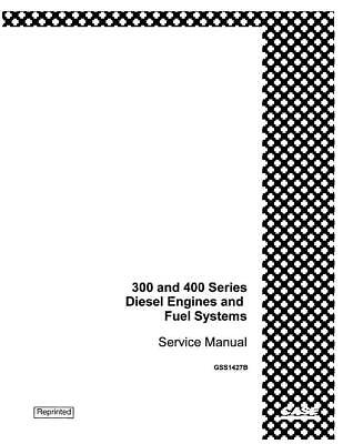 Case Ih Diesel Engine And Fuel Systems For 300 400 Series Service Manual