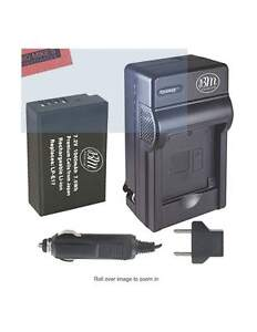 Canon Battery and charger AC and 12V ( New )