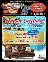 Pointe Claire Carpet Cleaning Holiday Specials