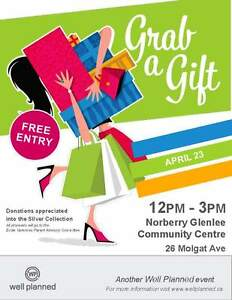 Grab a Gift Craft and Vendor Sale Sunday April 23 - 12 - 3 pm