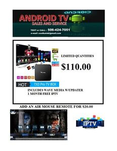 ******SPECIAL $110 ANDROID  TX3pro PLUS ******