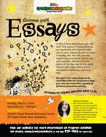 Success with Essays - Writing Workshop for Youth