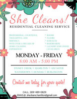 Professional Home Cleaning Service!
