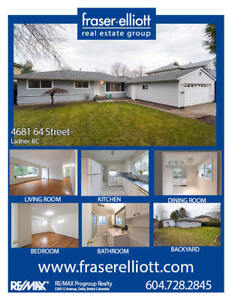 Solid, 3 bedroom rancher style home on large 7,262 sq.ft rectang