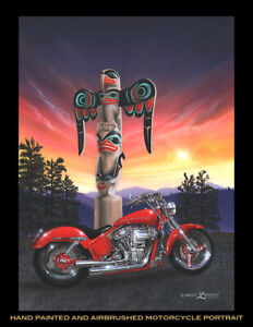 custom paint service by 45 year Airbrush Artist and Pin-Striper