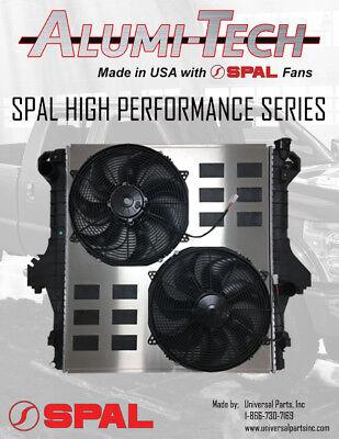 03-09 Dodge Ram Cummins 5.9 6.7 SPAL HP Electric Fans W/ Radiator Shroud