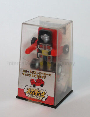 1984 Takara Transformers Mini Spy Buggy Mini-Spies Red Recolor & Stickers Boxed