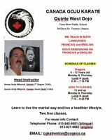 Adult and Youth Karate Classes