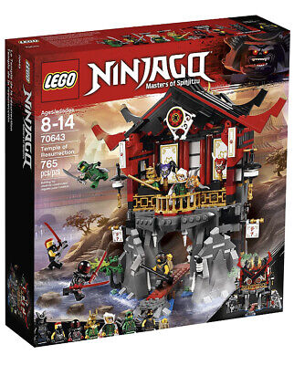 LEGO Ninjago Temple of Resurrection - 70643. New And Sealed!