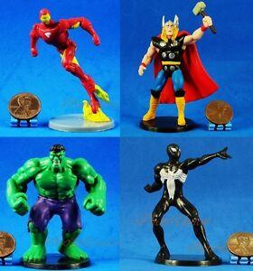 Marvel-Universe-AVENGERS-Spider-Man-THOR-INCREDIBLE-HULK-IRON-MAN-Figure-Model
