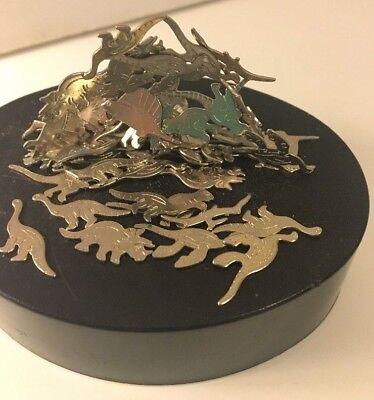 Magnetic Dinosaur Sculpture Stack Relaxing Desktop Toy Games Art Gift Kids Adult
