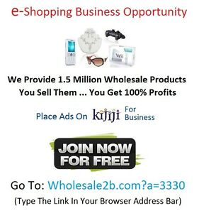 ★ Business Opportunity   Retailing With No Store Front = Big $$$