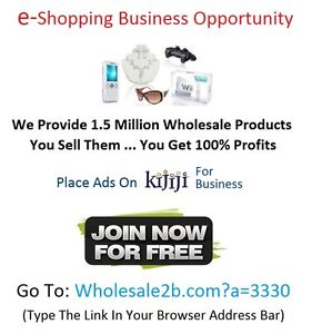 ★ Business Opportunity | Retailing With No Store Front = Big $$$