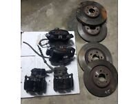 Audi S4 S5 big brake setup calipers, discs, pads & bolts B8 B8.5 8K A4 A5 345mm