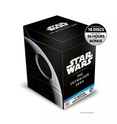 Star Wars: The Skywalker Saga (Box Set) [Blu-ray] Brand New Cellophane Sealed