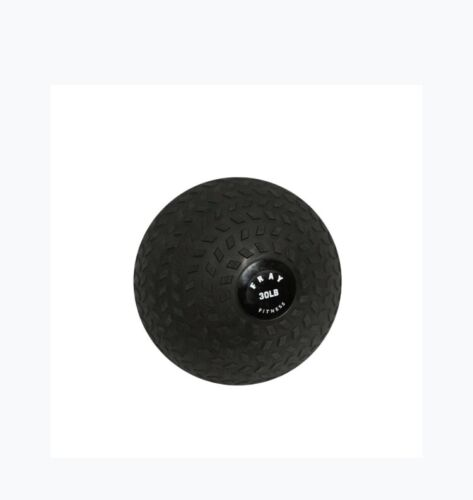 FrayFitness 30 lb Premium Slam Spike Ball Rubber Exercise Weight Workout Cardio