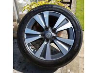 Nissan Pulsar Wheel & Tyre