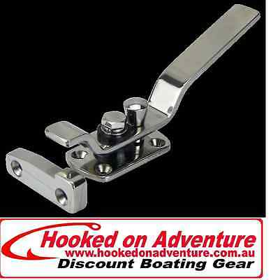 Latch Door Stainless Steel Latch with Striker 206mm Overall Length