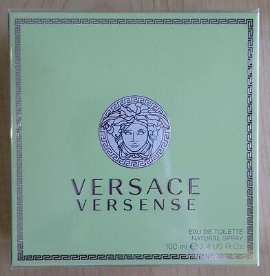 Versace Versense EDT Spray Brand New Sealed 100ml
