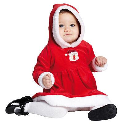 Plüsch Weihnachtskostüm hochwertig, Kinder Kleinkinder Mädchen - Hochwertige Kleinkind Kostüm