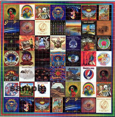 GRATEFUL DEAD ALBUMS BLOTTER ART LSD Acid Art paper sheet tabs