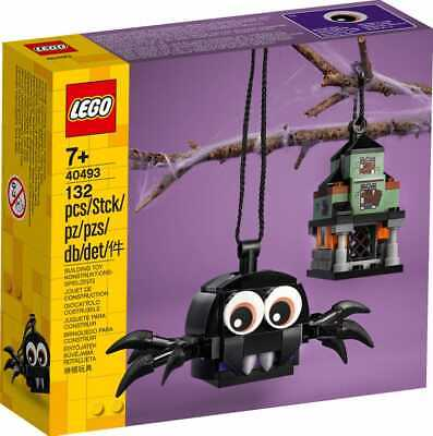 New Lego 40493 Halloween Spider & Haunted House Pack*2 Free Shipping