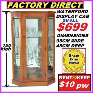 New Display Cabinet Cash $699 Or RENT TO KEEP For $10 P/W Ipswich Region Preview