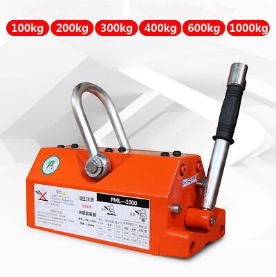 1001000kg Permanent Magnet Crane Magnetic Lifter Heavy Duty Crane Hoist Lifting