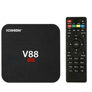BLOWOUT SALE NEW,,,V88 Android TV Box 6.0, 4K 3D 1080P