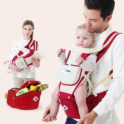 Ergonomic Baby Carrier With Hip Seat Stool Adjustable Wrap Sling High Quality