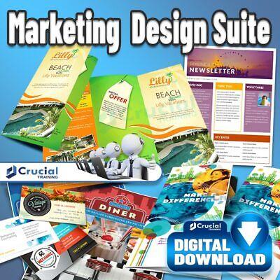 Marketing Design Suite, Graphic Design, Art and Desktop Publisher Software Suite