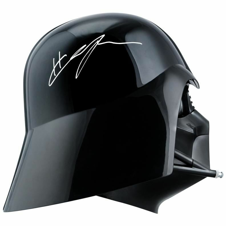 Hayden Christensen Autographed Star Wars Darth Vader Screen Accurate Helmet