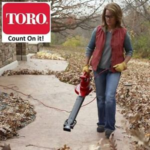 NEW TORO ULTRAPLUS BLOWER/VACUUM 51621 236955175 VARIABLE SPEED RED
