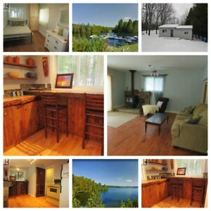 Palmerston Lake Area: Charming Renovated 1 BR Cottage