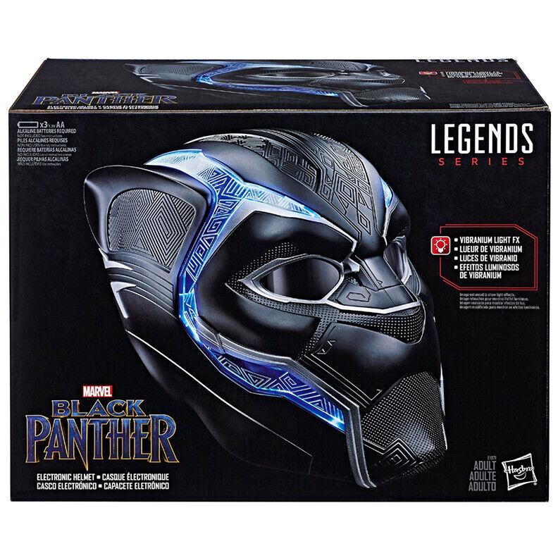 Marvel Legends Series Black Panther Electronic Helmet Avengers Infinity War MCU