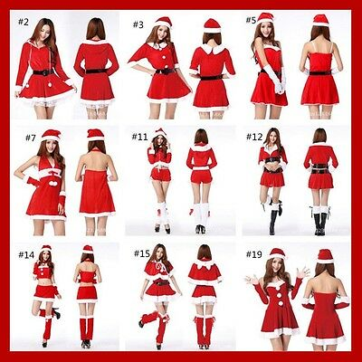 2017 Christmas Sexy Miss Santa Claus Fancy Dress party Women Lady Girls Costume](Miss Santa Dress)