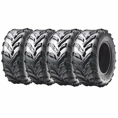 F& R ATV Tires 6 ply 25x8-12 & 25x10-12 For Arctic Cat Can-Am Honda Kawasaki