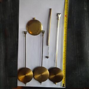 Variety of Antique Clock Parts