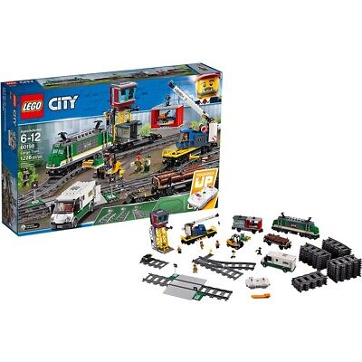 Original LEGO City Trains 60198 Freight train