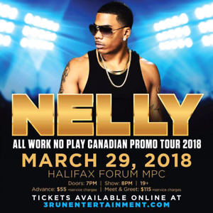 Nelly tickets