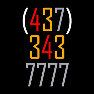 Rare 437 Phone Number for Sale! 437-343-7777